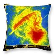 Center Of The Galaxy Radio Image Throw Pillow