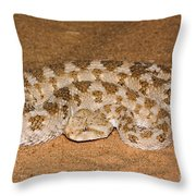 Cerastes Cerastes Horned Viper Throw Pillow