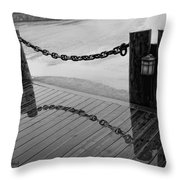 Chained Together Throw Pillow