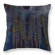 Chainmail Throw Pillow