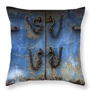 Chains And Hooks Throw Pillow
