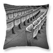 Chair Seating In An Arena With Oak Leaf Throw Pillow