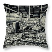 Chairs Undone Throw Pillow