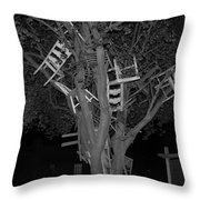 Chairy Tree Throw Pillow