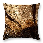 Chandelier Shimmer Throw Pillow