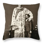 Chang Woo Gow, Chinese Giant Throw Pillow