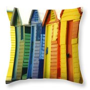 Change Rooms Throw Pillow