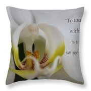 Change Someone Throw Pillow