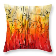 Changing Everythig Throw Pillow