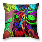Chaos Throw Pillow by Ankeeta Bansal