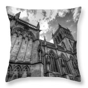 Chapel Of St. John's College - Cambridge Throw Pillow
