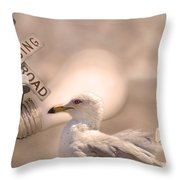 Chapter Nineteen  Throw Pillow by Betsy Knapp
