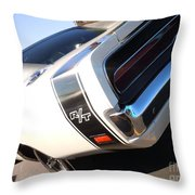 Charger Rt Throw Pillow