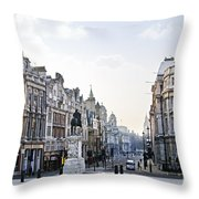 Charing Cross In London Throw Pillow