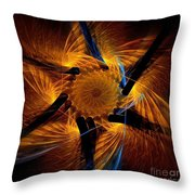 Chariots Of Fire Throw Pillow