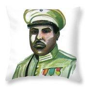Charles Atangana Throw Pillow