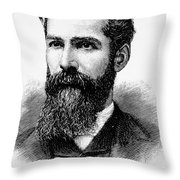 Charles Betts Galloway Throw Pillow