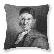 Charles De Saint-evremond Throw Pillow