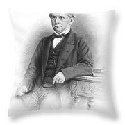 Charles F. Adams (1807-1886) Throw Pillow