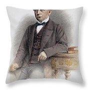 Charles Francis Adams Throw Pillow