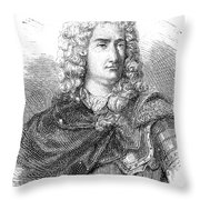 Charles-francois Du Fay Throw Pillow
