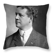 Charles H. Ebbets (1859-1925) Throw Pillow