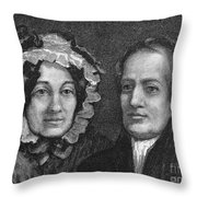 Charles Lamb (1775-1834) Throw Pillow