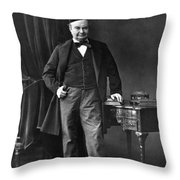 Charles Sainte-beuve Throw Pillow