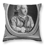 Charles Simon Favart Throw Pillow