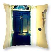 Charleston Door 2 Throw Pillow