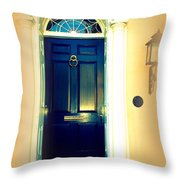 Charleston Door 3 Throw Pillow