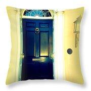 Charleston Door 4 Throw Pillow