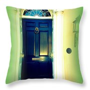 Charleston Door 5 Throw Pillow
