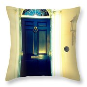 Charleston Door 7 Throw Pillow