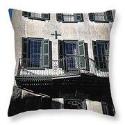 Charleston Houses Throw Pillow