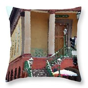 Charleston Market1 Throw Pillow