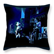 Winterland Blues 1975 Throw Pillow