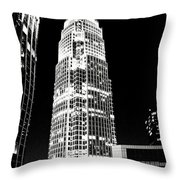 Charlotte North Carolina Bank Of America Building Throw Pillow