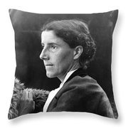 Charlotte Perkins Gilman Throw Pillow