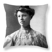 Charmian Kittredge London Throw Pillow