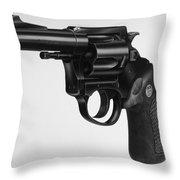 Charter Arms Revolver Throw Pillow