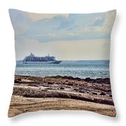 Charting The North East Passage Throw Pillow