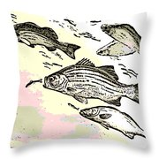 Chasing Lunch Throw Pillow