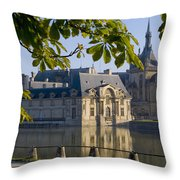 Chateau De Chantilly Throw Pillow