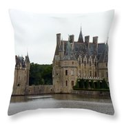 Chateau De La Bretesche Throw Pillow