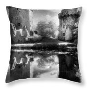 Chateau De Largoet Throw Pillow