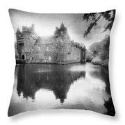 Chateau De Trecesson Throw Pillow