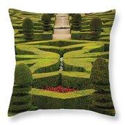 Chateau De Villandry Throw Pillow