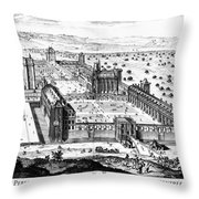 Chateau De Vincennes Throw Pillow