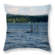 Chautauqua Lake  Throw Pillow